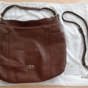 Used Coach Shoulder Bag Hobo Style with Dust Cover